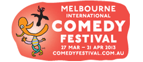 Melbourne International Comedy Festival logo